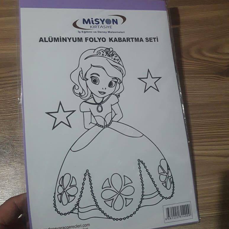 Aluminyum Folyo Kabartma Seti Aktas Egitim Materyalleri